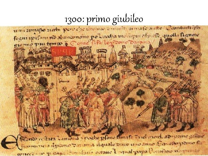1300: primo giubileo