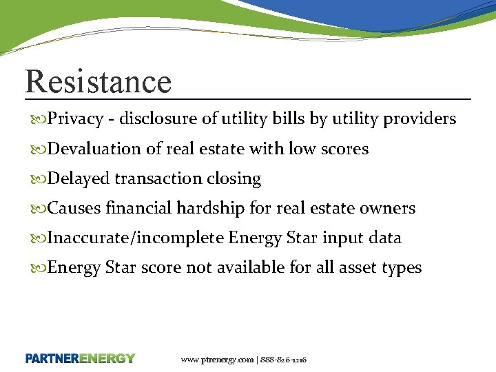 Resistance Privacy - disclosure of utility bills by utility providers Devaluation of real estate