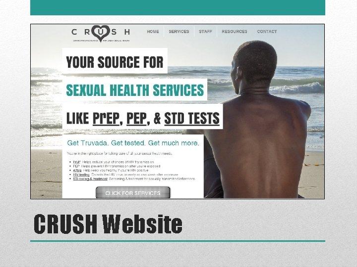 CRUSH Website