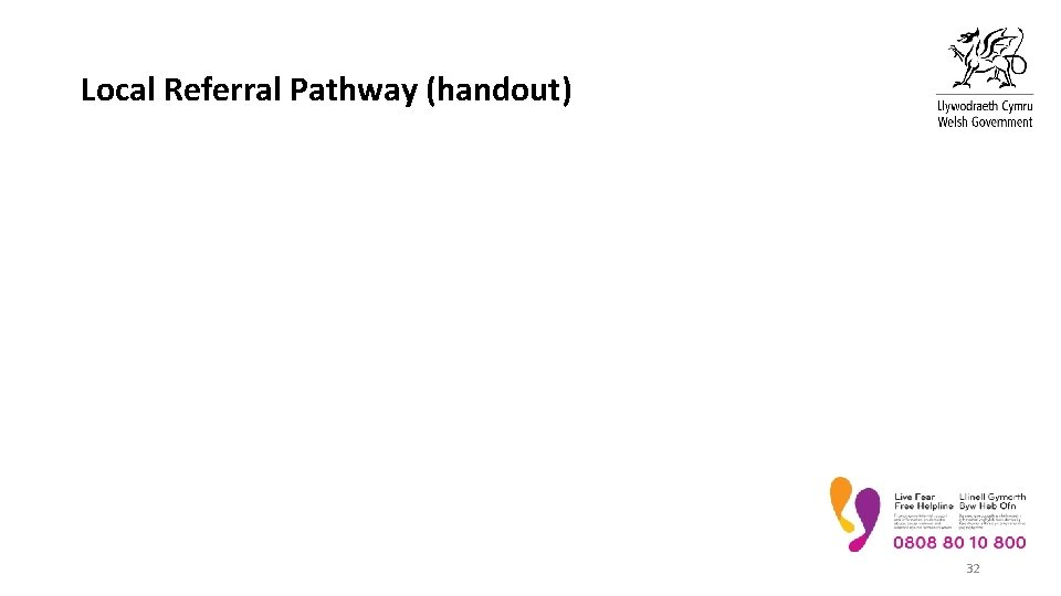Local Referral Pathway (handout) 32