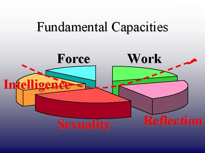 DRAFT ONLY Fundamental Capacities Force Work Intelligence Sexuality Reflection