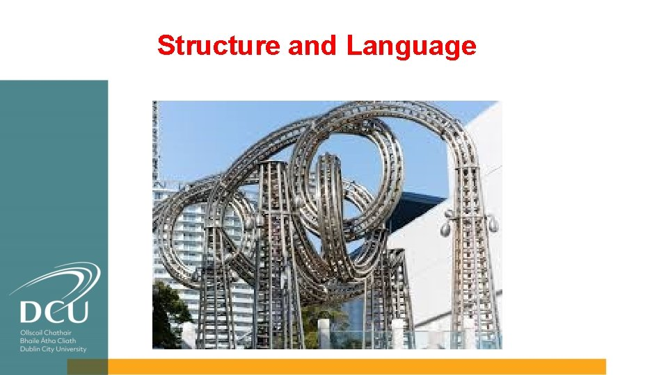 Structure and Language