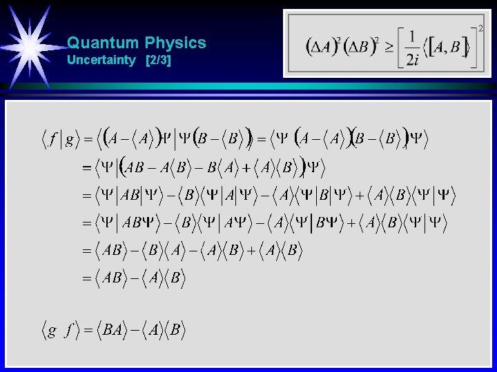 Quantum Physics Uncertainty [2/3]