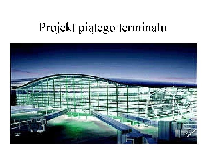 Projekt piątego terminalu