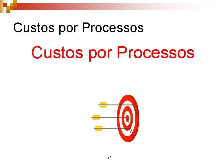 Custos por Processos 94