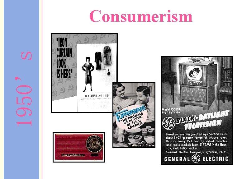 1950's Consumerism