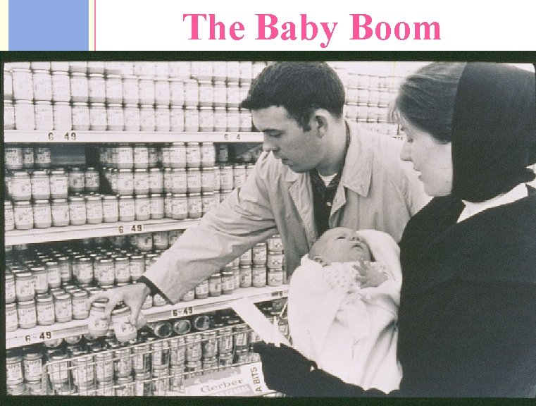 1950's The Baby Boom