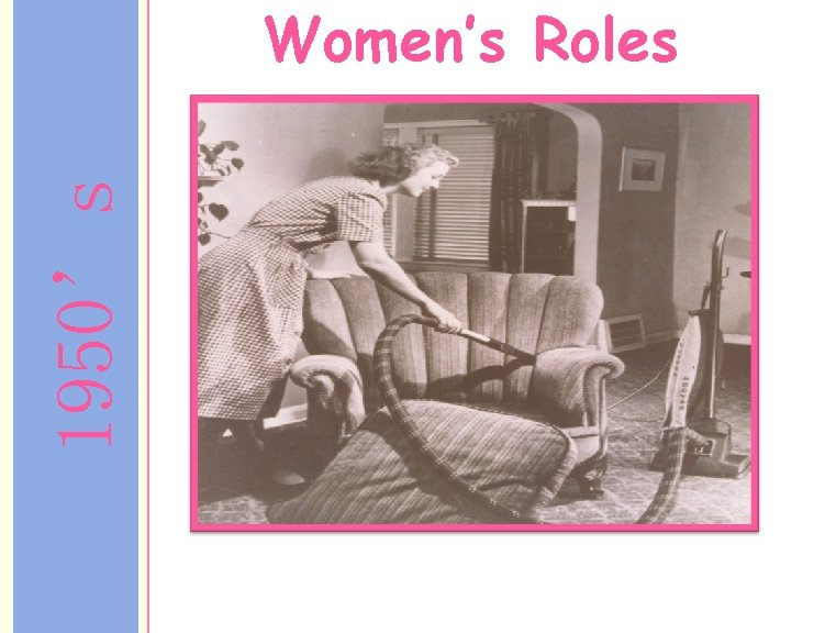 1950's Women's Roles