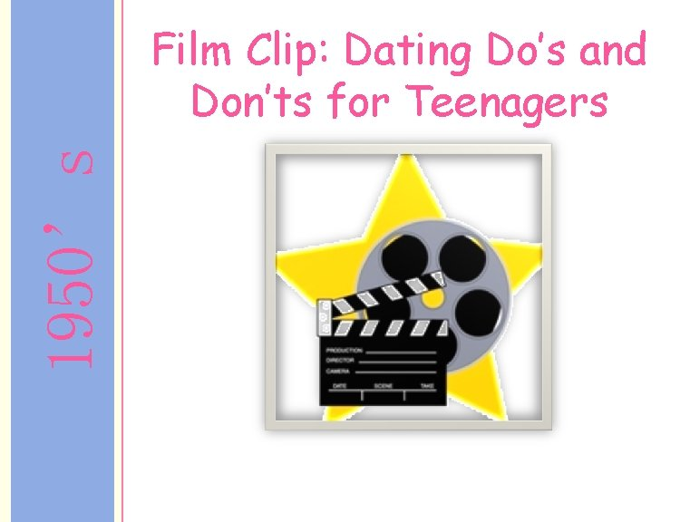 1950's Film Clip: Dating Do's and Don'ts for Teenagers