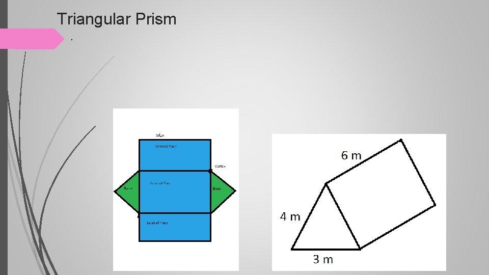 Triangular Prism .