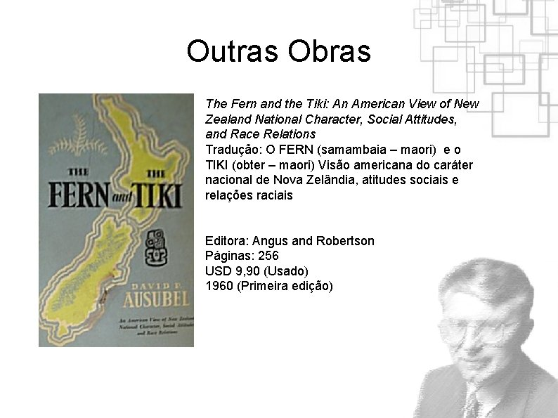 Outras Obras The Fern and the Tiki: An American View of New Zealand National