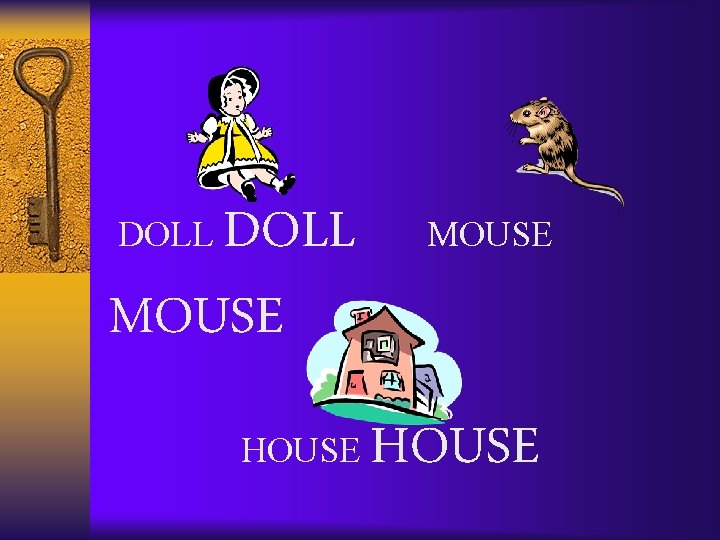 DOLL MOUSE DOLL HOUSE
