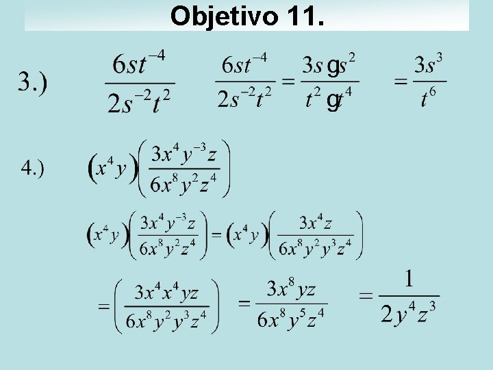 Objetivo 11.