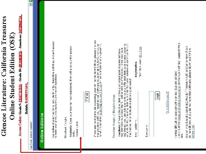 British: BAD 0 EF 5 A 5 A Access Codes: Grade 9: F 81