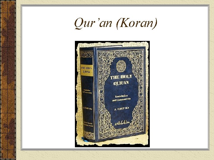 Qur'an (Koran)