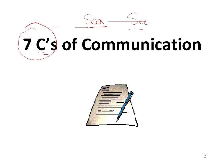 7 C's of Communication 2