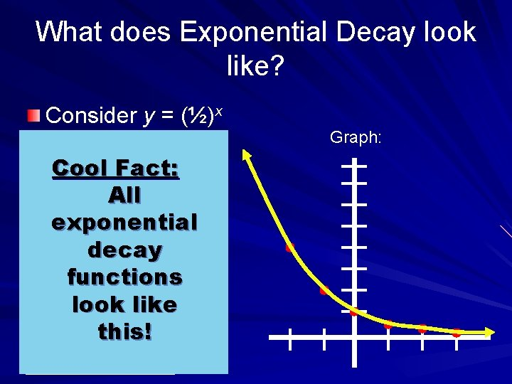 Exploring Exponential Growth And Decay Models Sections 8