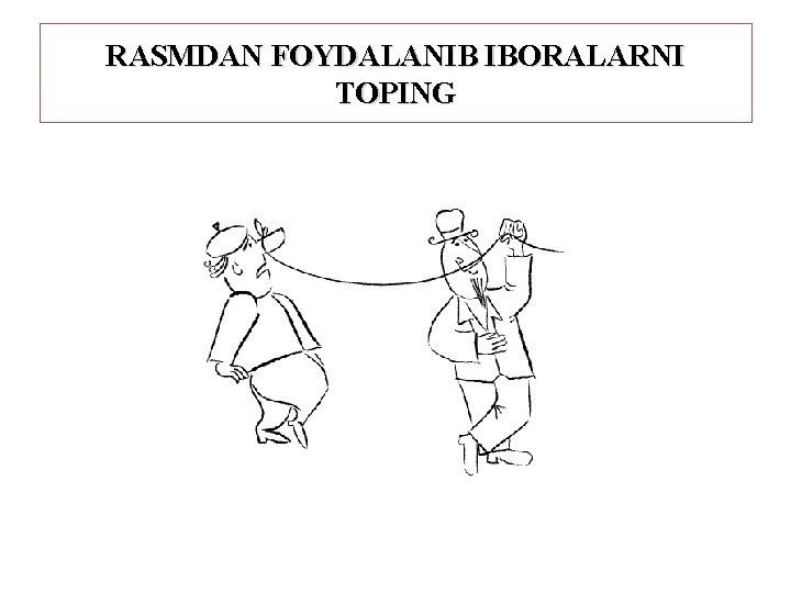 RASMDAN FOYDALANIB IBORALARNI TOPING