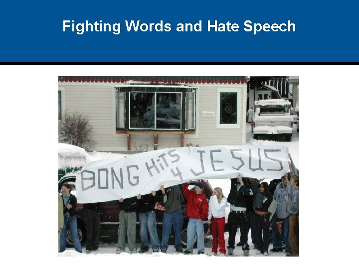 Fighting Words and Hate Speech