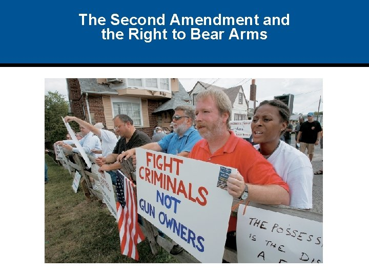 The Second Amendment and the Right to Bear Arms