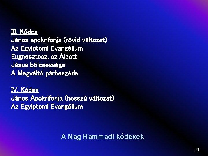 Evangélium
