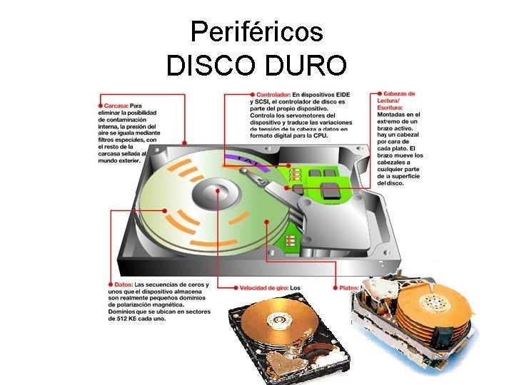 Periféricos DISCO DURO