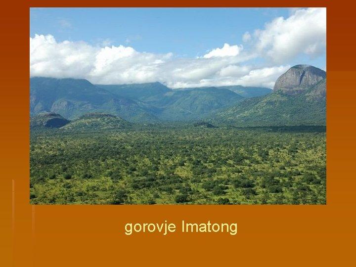 gorovje Imatong
