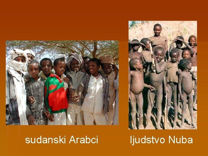 sudanski Arabci ljudstvo Nuba