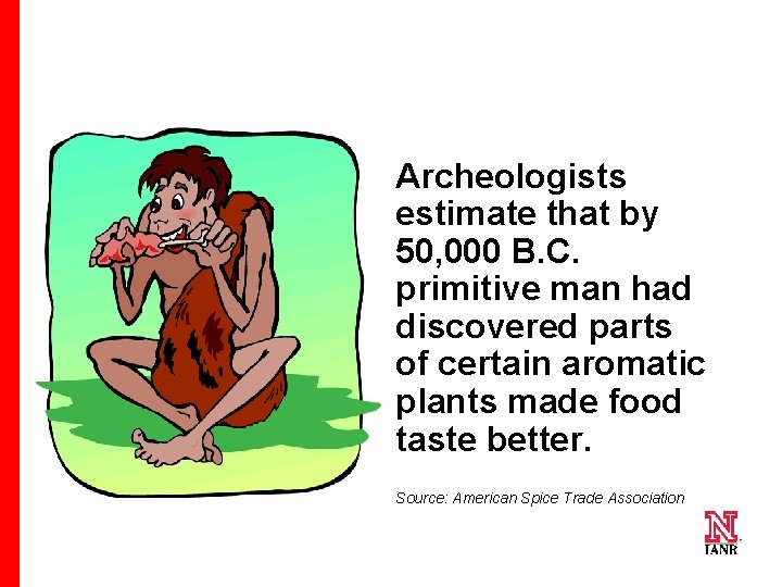 Archeologists estimate that by 50, 000 B. C. primitive man had discovered parts of