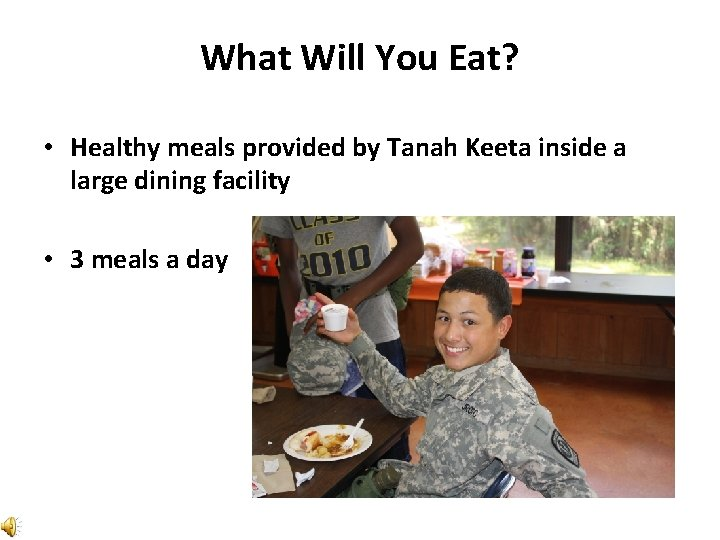 What Will You Eat? • Healthy meals provided by Tanah Keeta inside a large