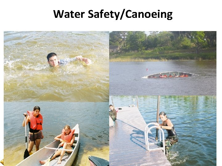 Water Safety/Canoeing
