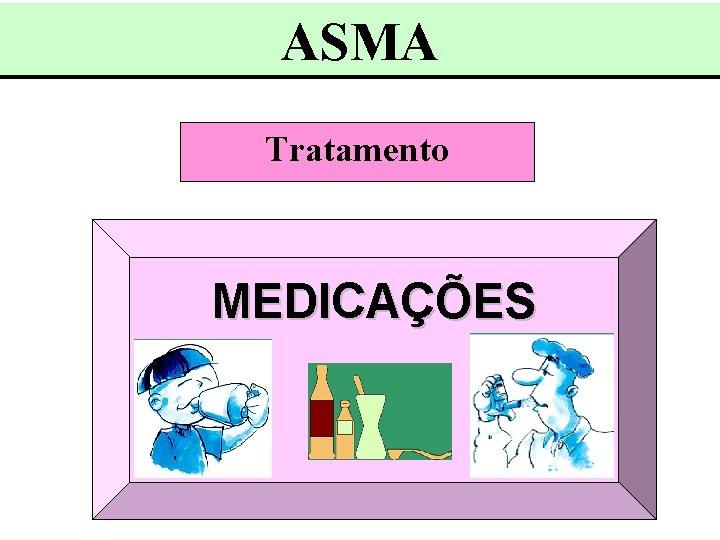ASMA Tratamento MEDICAÇÕES