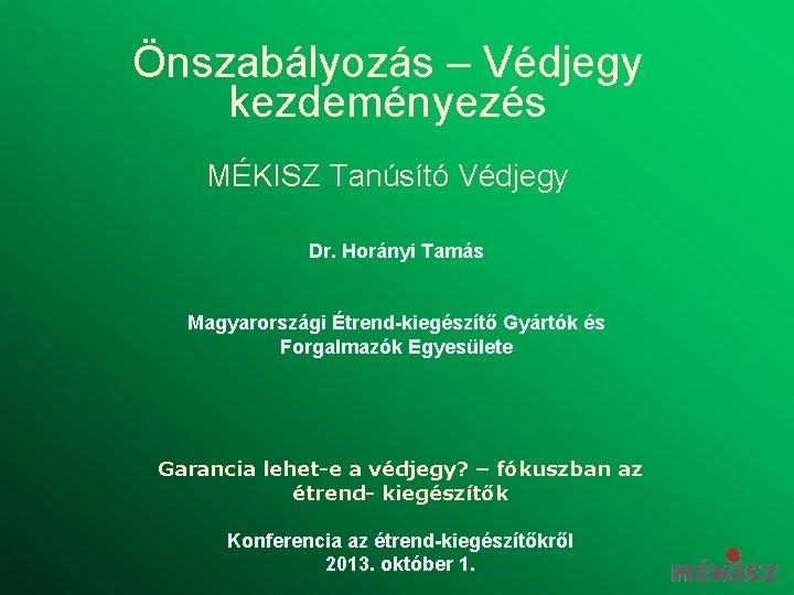 Közlemény: Étrend Magyar Konyhafőnökök Egyesülete – Oldalas magazin