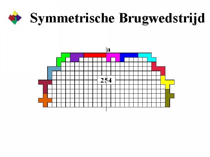 Symmetrische Brugwedstrijd
