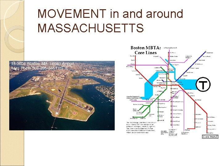 MOVEMENT in and around MASSACHUSETTS