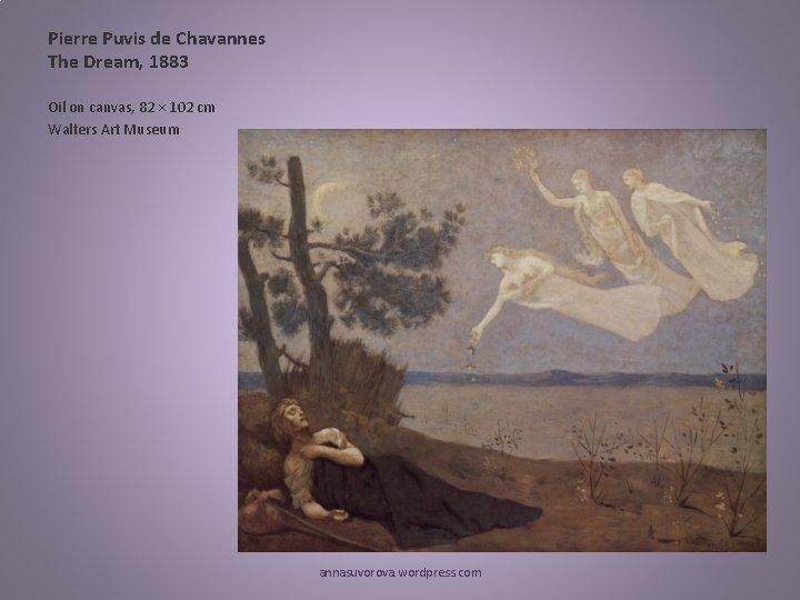 Pierre Puvis de Chavannes The Dream, 1883 Oil on canvas, 82 × 102 cm