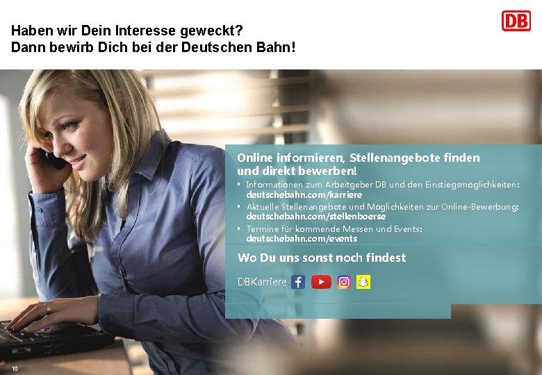 Arbeiten Bei Deutsche Bahn Bewerbung Einstieg Jobs 9