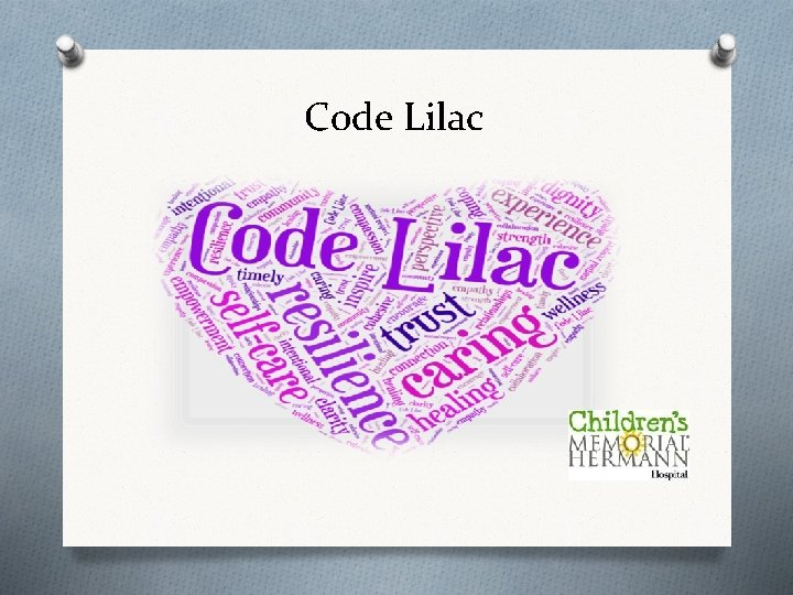 Code Lilac