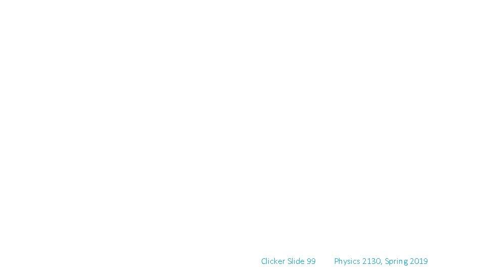 Clicker Slide 99 Physics 2130, Spring 2019