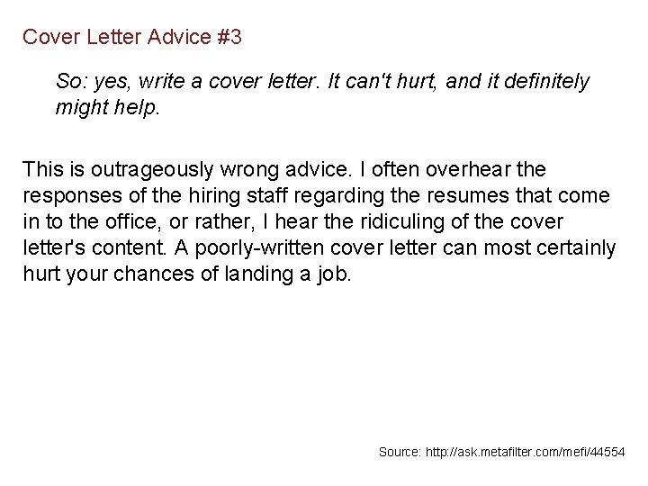 Cover Letters The Hardest Letters You Never Wanted