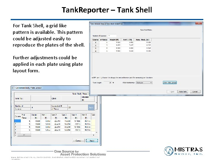 Tank. Reporter – Tank Shell For Tank Shell, a grid like pattern is available.