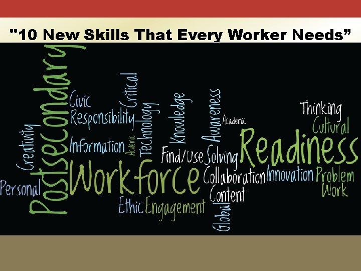 """10 New Skills That Every Worker Needs"" Rotman Management (Winter 2013) 1. Computational thinking"