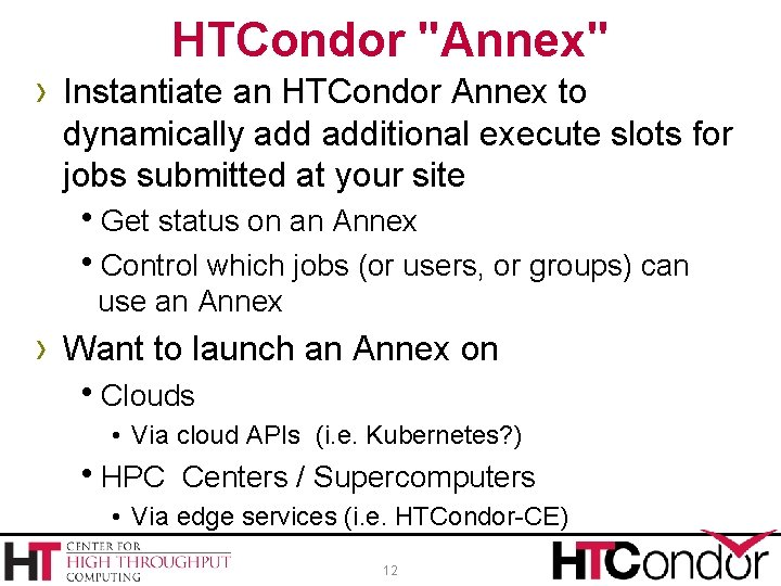 """HTCondor """"Annex"""" › Instantiate an HTCondor Annex to dynamically additional execute slots for jobs"""