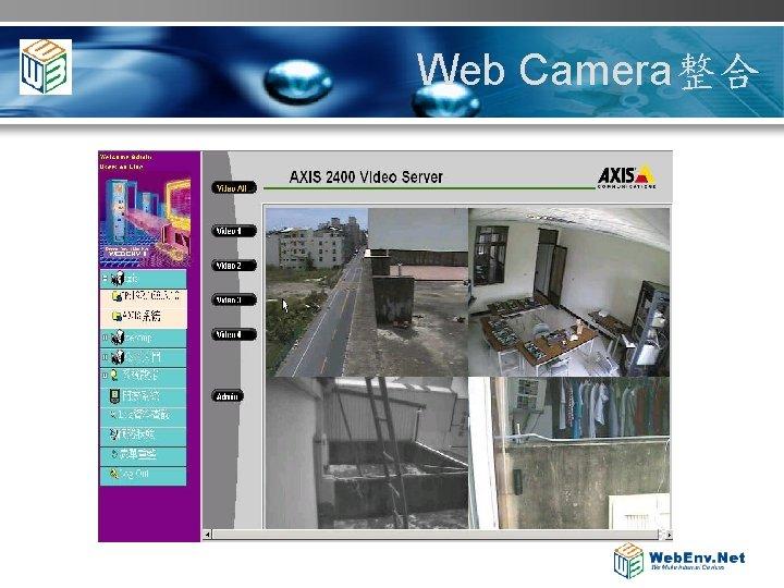 Web Camera整合