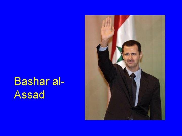 Bashar al. Assad