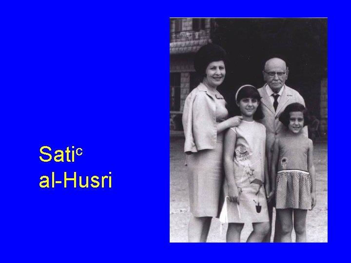 Satic al-Husri