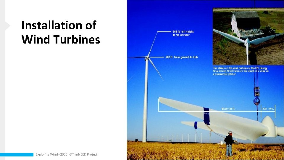 Installation of Wind Turbines Exploring Wind - 2020 ©The NEED Project