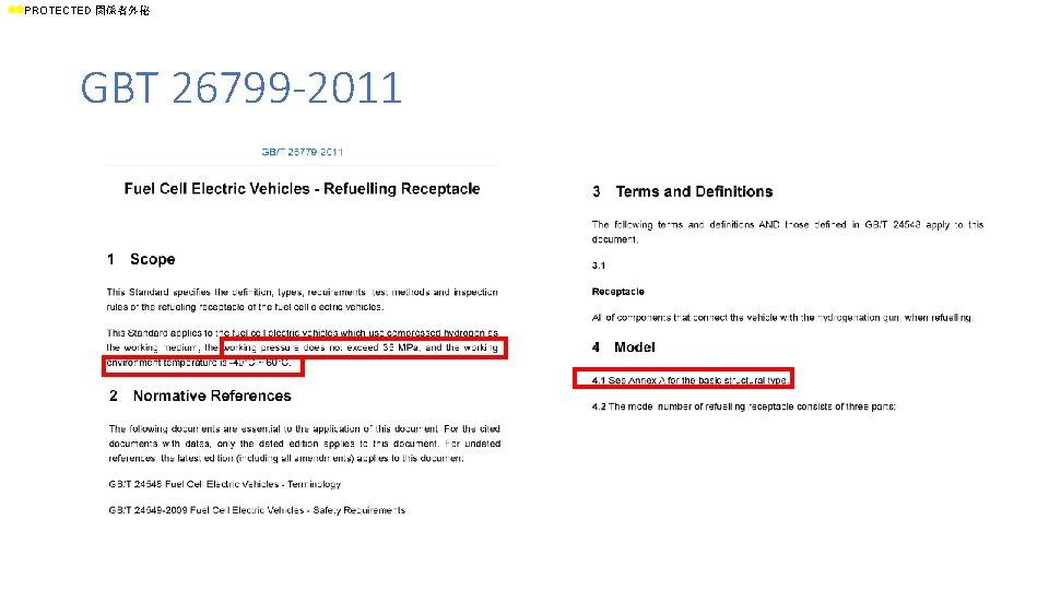ll. PROTECTED 関係者外秘 GBT 26799 -2011