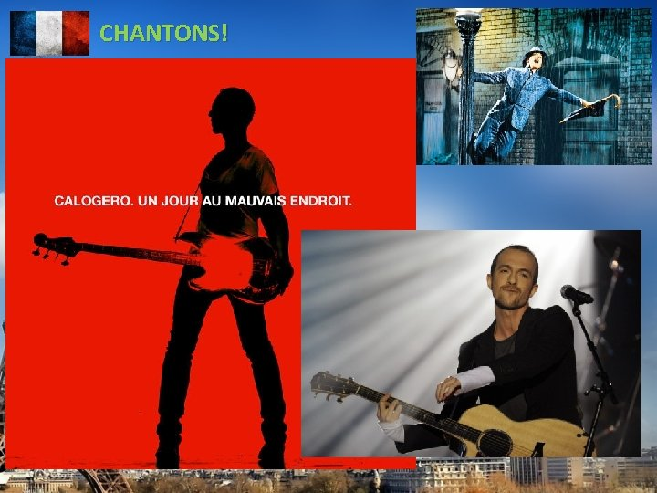 CHANTONS!
