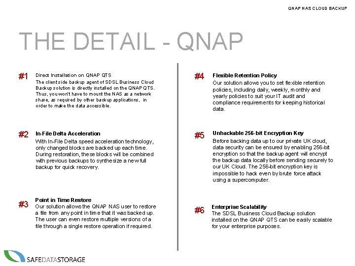 QNAP NAS CLOUD BACKUP THE DETAIL - QNAP #1 Direct Installation on QNAP QTS